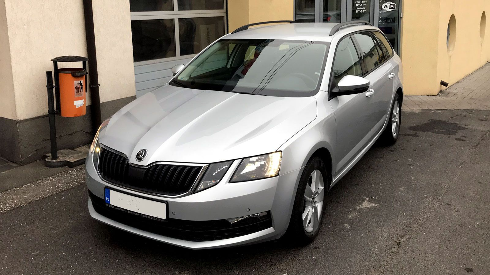 Skoda Octavia TSI - Mk-Speed Rent a Car