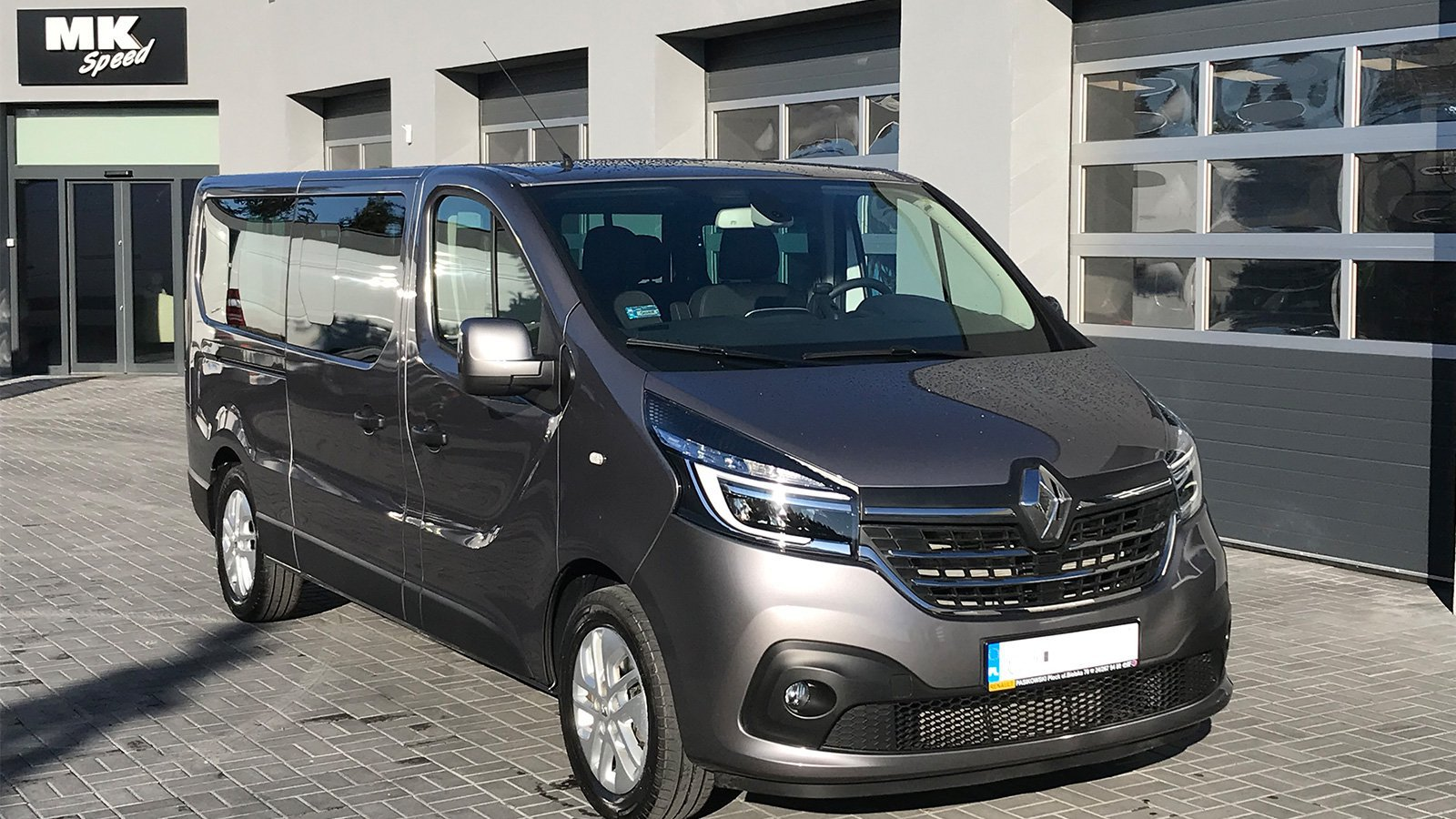 Renault Trafic - Mk Speed Rent a Car Inowrocław